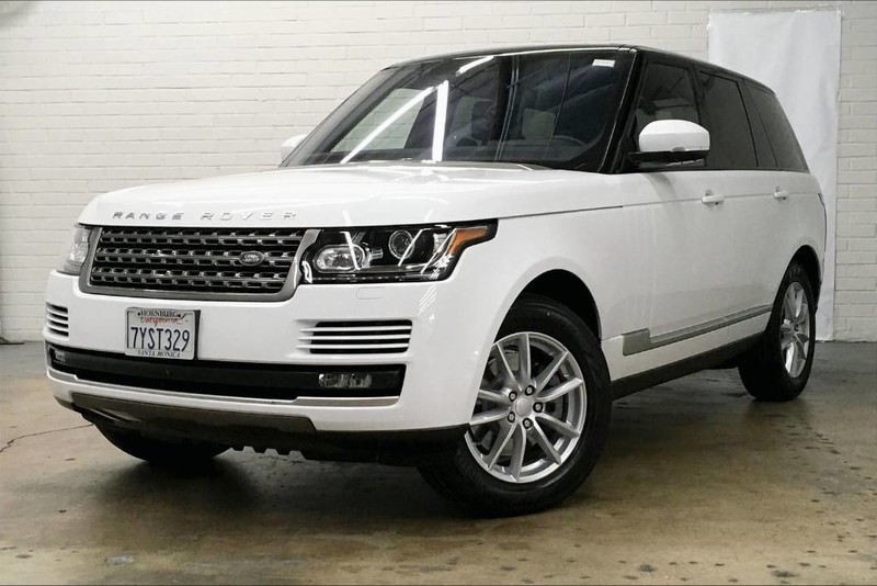 Certified Pre-Owned 2017 Land Rover Range Rover SE