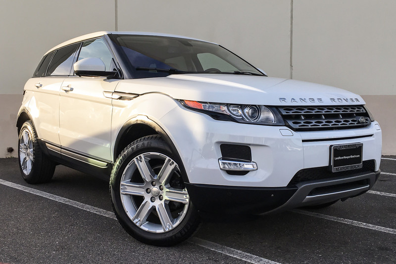 Pre Owned 2015 Land Rover Range Rover Evoque Pure Premium Suv In