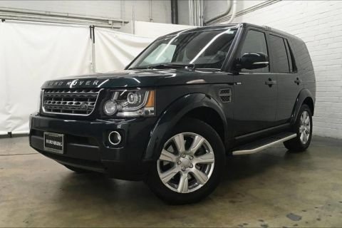 Certified Pre-Owned 2016 Land Rover LR4 HSE