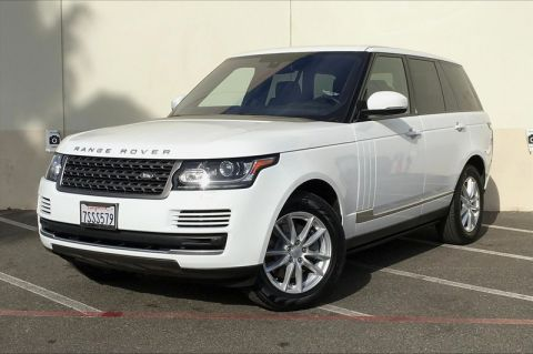 Certified Pre-Owned 2016 Land Rover Range Rover