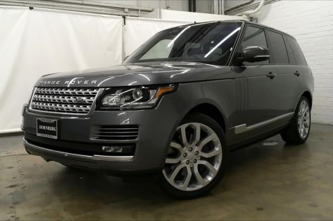 Certified Pre-Owned 2017 Land Rover Range Rover Supercharged