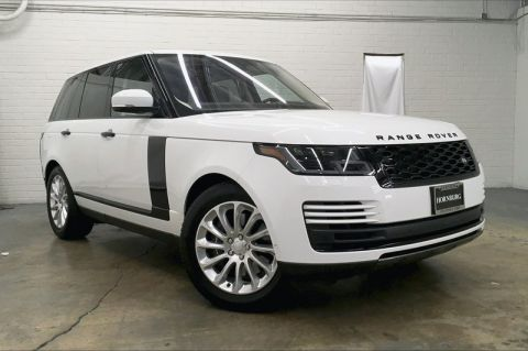 Certified Pre-Owned 2018 Land Rover Range Rover HSE