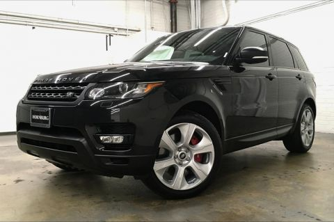 Pre-Owned 2015 Land Rover Range Rover Sport Supercharged LE